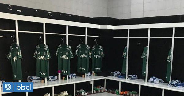 Todo sirve: la 'ayuda divina' a la que se encomendó Palmeiras para duelo con Colo Colo