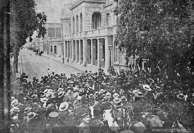 Huelga de Valparaíso de 1903 | Memoria Chilena