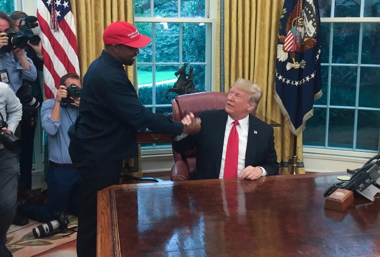 Donald Trump y Kanye West | Agencia AFP | Saul Loeb