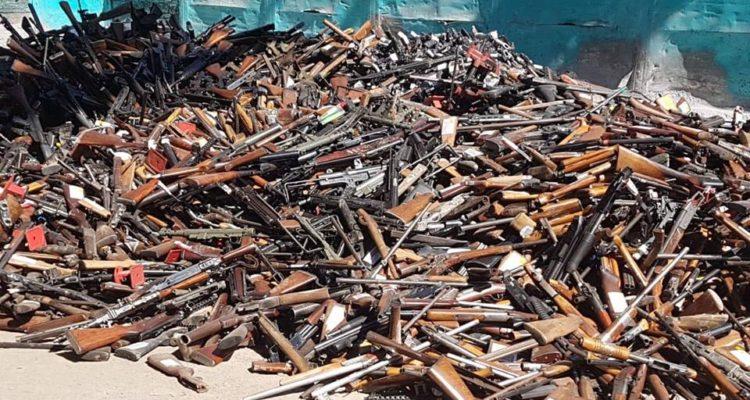Dgmn Destruye El Mayor Numero De Armas De Fuego En La Historia De La