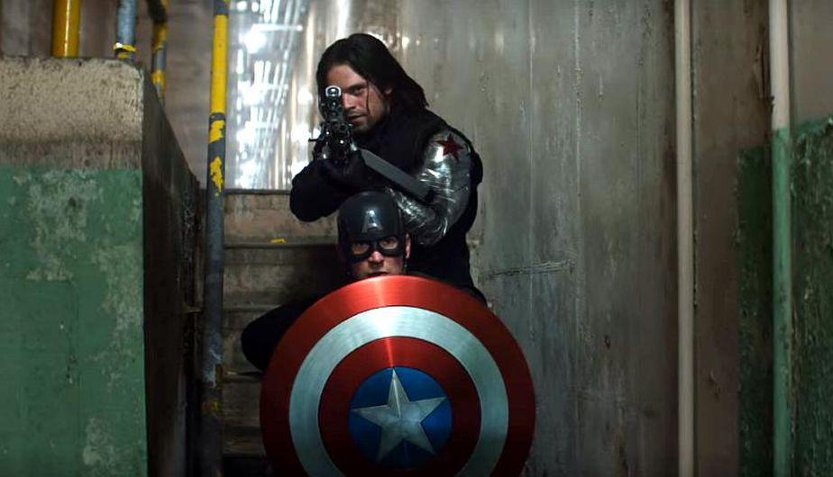 Bucky y Capitán América   Marvel