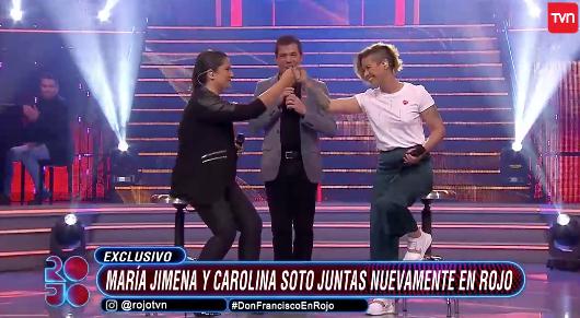 María Jimena Pereyra y Carolina Soto | TVN
