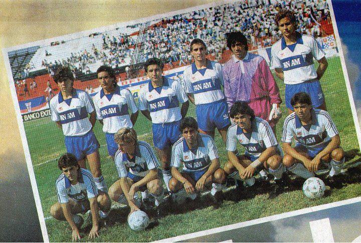 Parte del plantel de Católica 1988 / Blog Anotando Fútbol