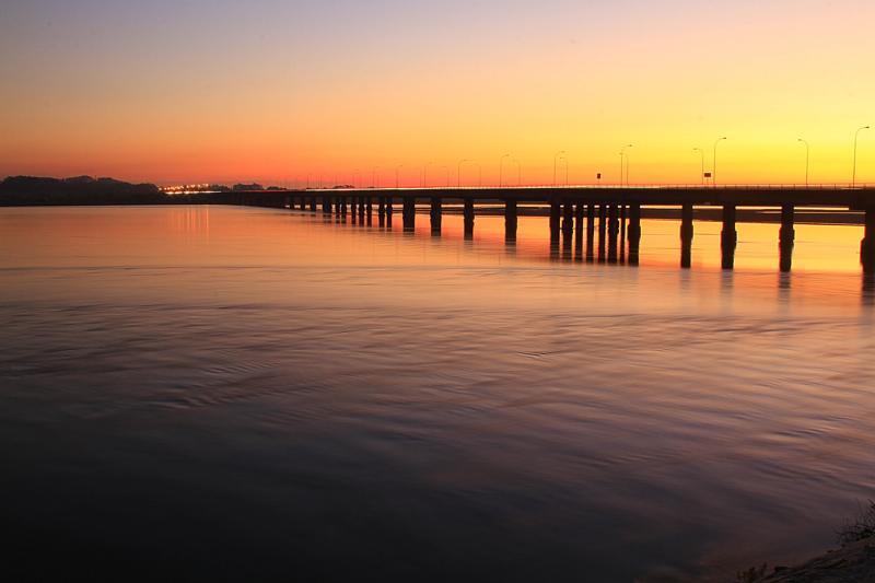 Puente Juan Pablo II sobre el río Bío Bío   Agencia Gradual