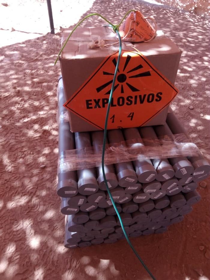 Detonación de explosivos en región de Antofagasta