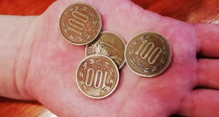 Resultado de imagen para Fin de una era: Banco Central sacará de circulación las viejas monedas de $100