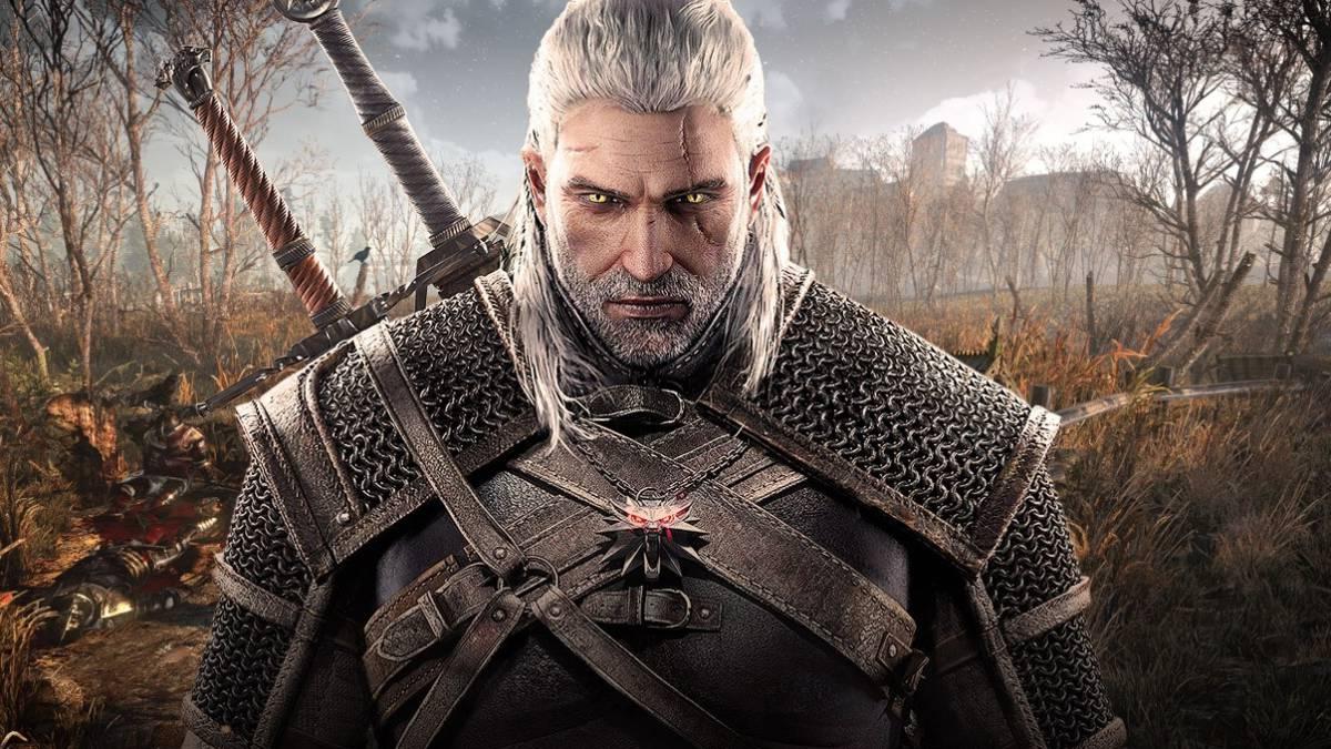 Geralt de Rivia en videojuego The Witcher