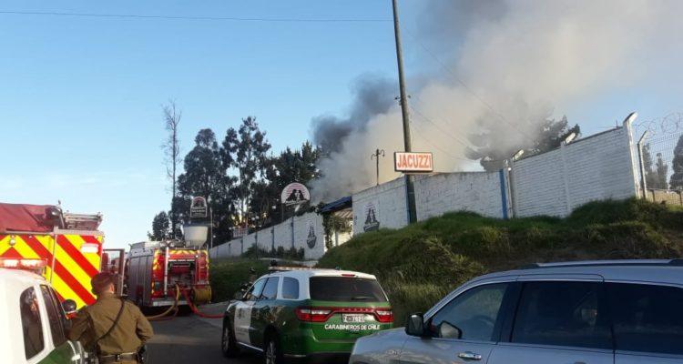 Incendio en motel Ensueño de Viña del Mar | Gonzalo Pérez (RBB)