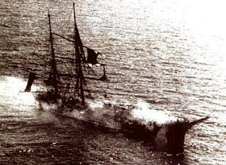 Incendio Fragata Lautaro | Armada de Chile