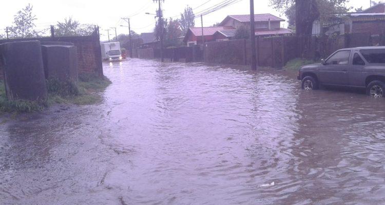 Talcahuano | Carriel Norte con Jaime Repullo inundada por precipitaciones | Sergio Osses (RBB)