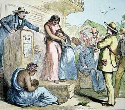 Retrato de la primera venta de Mary Prince | Wikimedia Commons