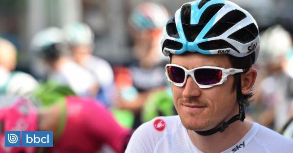 Roban el trofeo del ganador del Tour de Francia Geraint Thomas