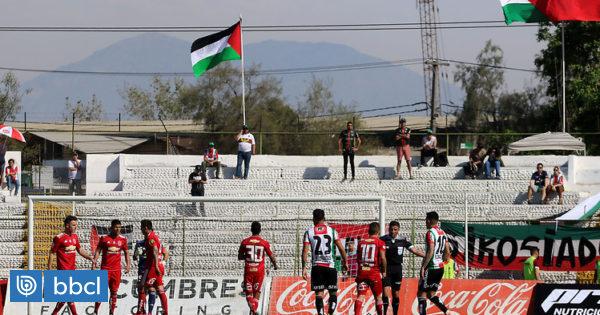Palestino anunció que recibirá a la 'U' en La Cisterna por vuelta de semis de Copa Chile