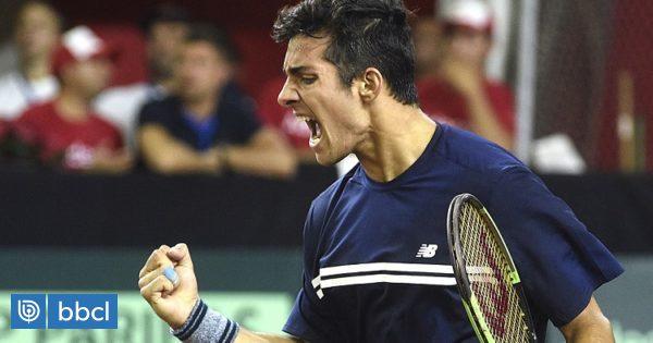 Ranking ATP: Christian Garín alcanza su mejor puesto y queda al borde de entrar al 'Top 100'
