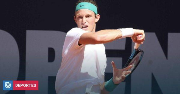 Nicolás Jarry hará su estreno en el ATP 500 de Basilea enfrentando al alemán Peter Gojowczyk