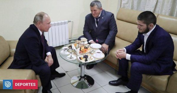 El 'reto' de Putin a Khabib tras escándalo con McGregor:
