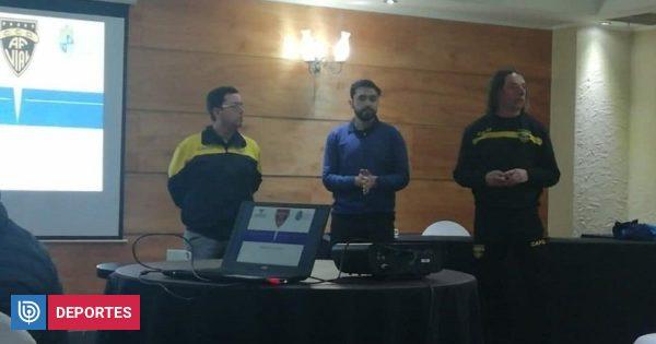 Fernández Vial llevó a cabo charla sobre alimentación para los jugadores del Fútbol Joven