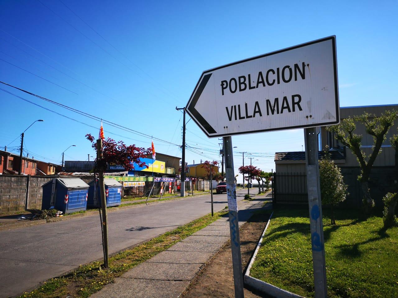 Entrada al barrio donde vivía la víctima | Pedro Cid (RBB)