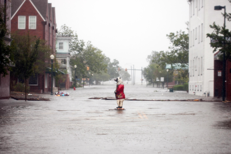 Inundación en Carolina del Norte tras el paso del Huracán Florence | Logan Cyrus | Agence France-Presse