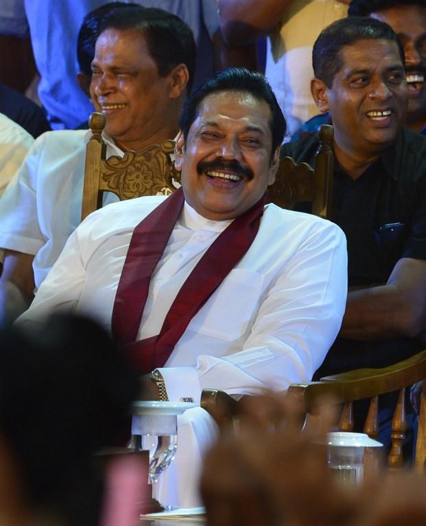AFP   Nuevo ministro Mahinda Rajapakse