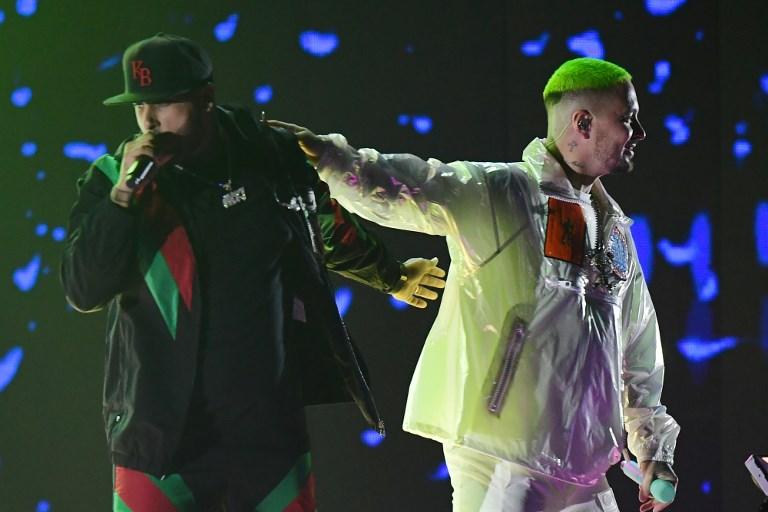 Nicky Jam y J Balvin