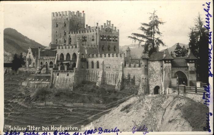 Castillo Itter antes de la batalla | Archivo
