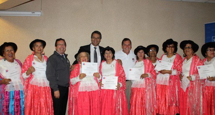 Adultos mayores que participaron de los talleres | Arica al Día