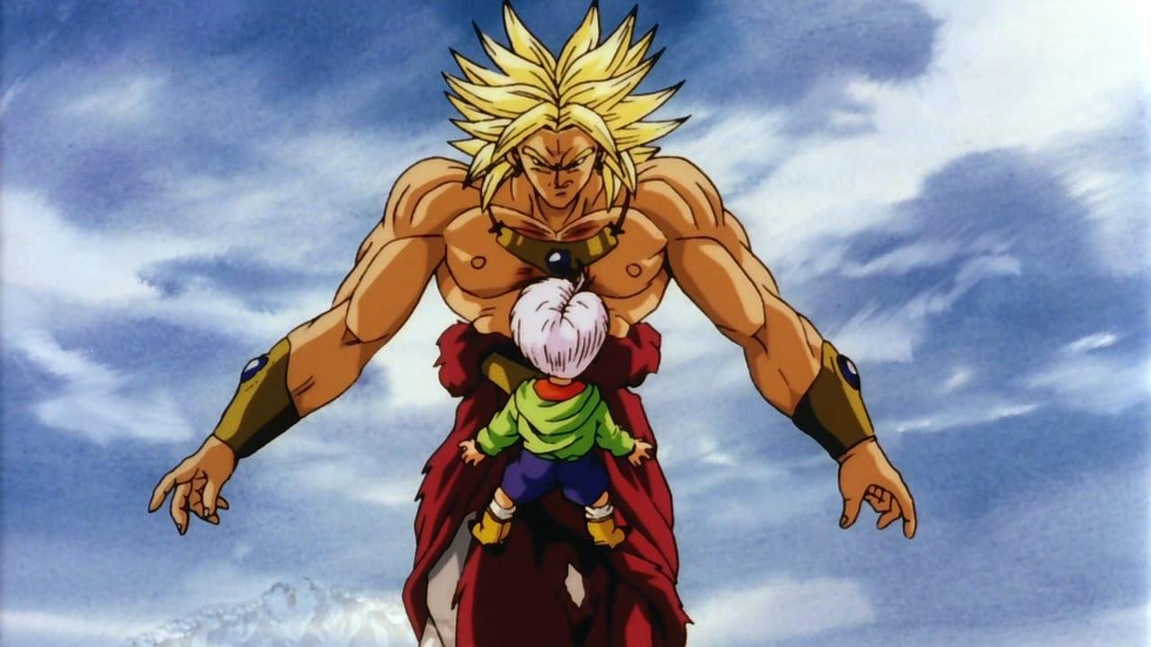 Broly contra Trunks en El Regreso del Guerrero Legendario