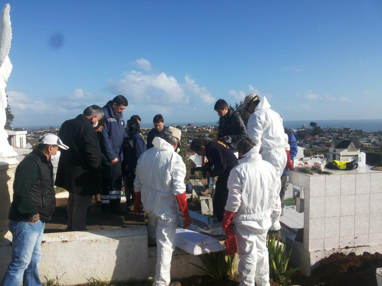 Exhumación de Florencia | Cedida