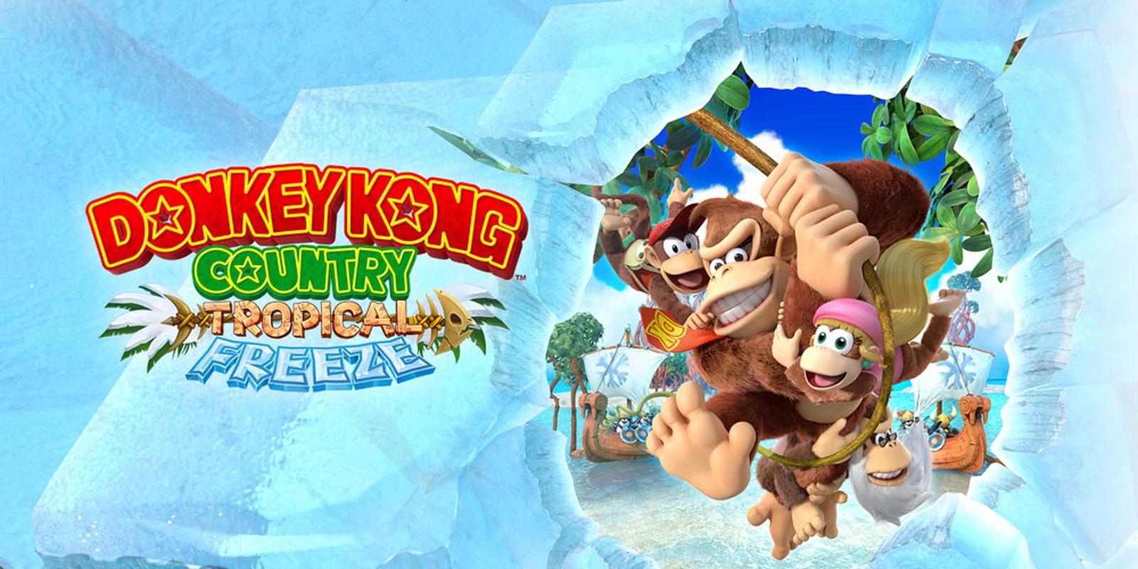 Donkey Kong Country: Tropical Freeze   Nintendo