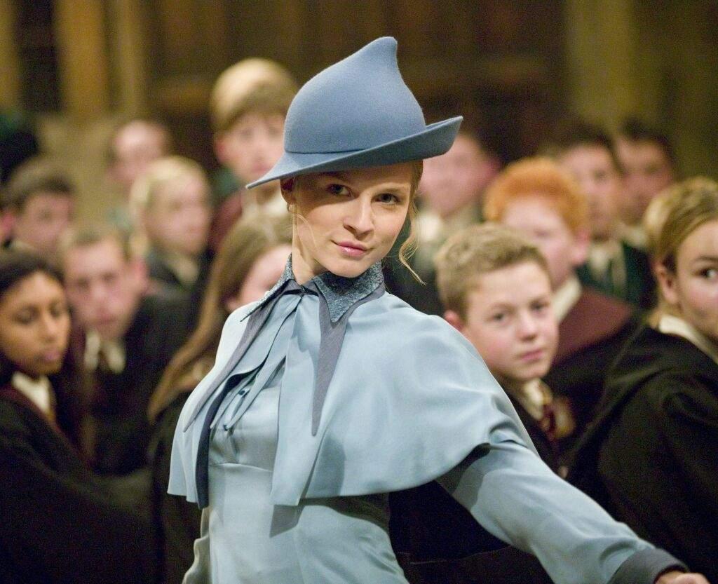 """Fleur Delacour en """"Harry Potter y el Cáliz de Fuego"""" (2005)"""