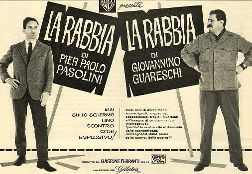 Afiche de La Rabbia (c)