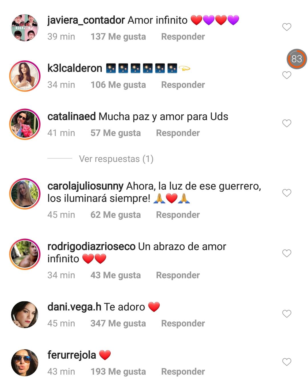 Mensajes en Instagram para Leonor Varela