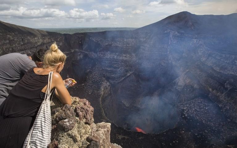Laguna de lava en el volcán Masaya | Inti Ocon | Agence France-Presse