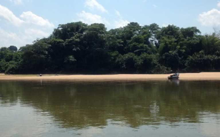 Río Machado, una de las áreas protegidas que fue eliminada. Foto: Cortesía de SEDAM.
