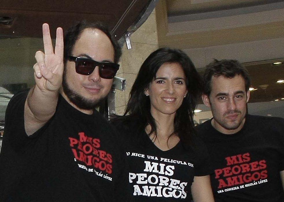 Nicolás López, Paz Bascuñán y Ariel Levy en 2013 | Foto de Mauricio Médez | Agencia Uno