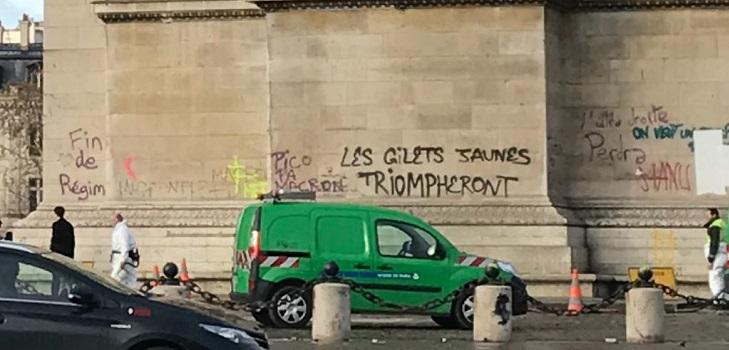 Arco de Triunfo, París, foto de MC (c)