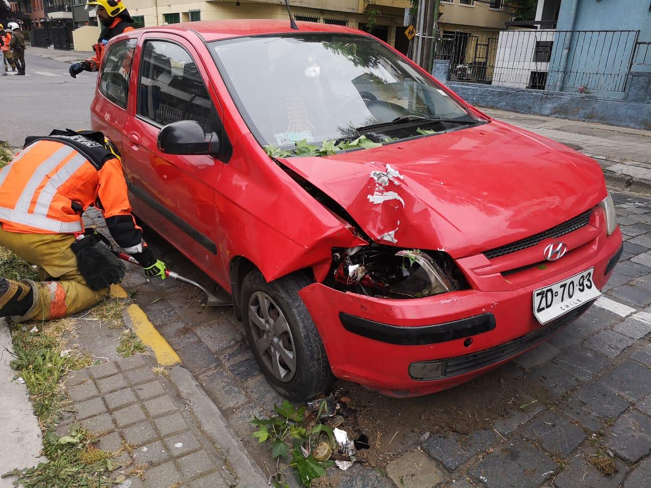Vehículo involucrado   Pedro Cid (RBB)