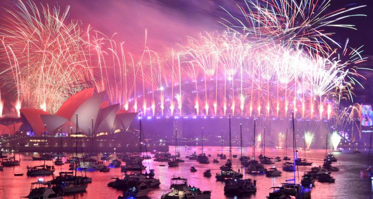 Sidney Recibe El Ano Nuevo Con Un Record De Fuegos Artificiales