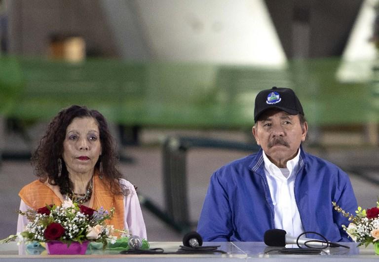 Rosario Murillo y Daniel Ortega | ARCHIVO | Agence France-Presse