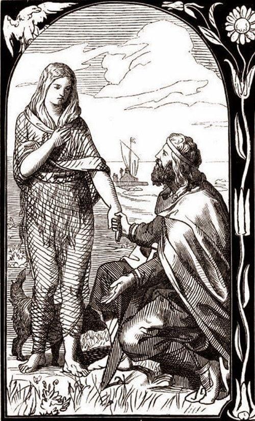 Ragnar y Aslaug | Wikimedia Commons