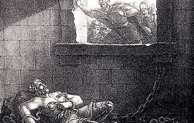 La muerte de Ragnar | Wikimedia Commons