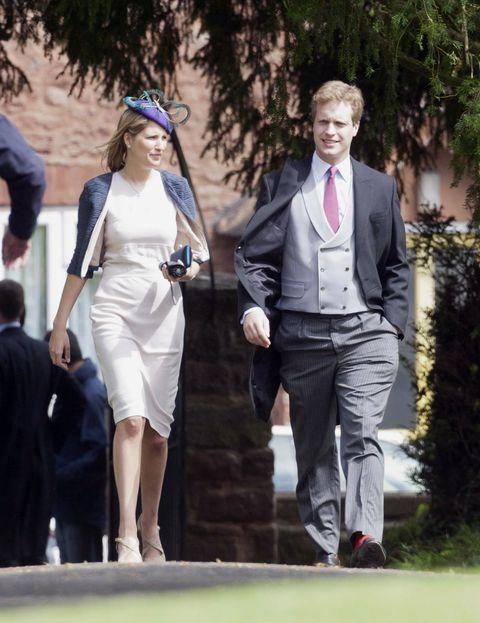 Henry asistió junto a su esposa  la misma boda