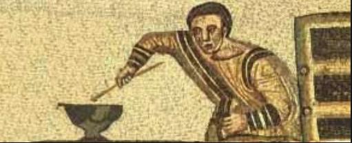 Cuadro que muestra la preparación de las legumbres en Roma | Wikimedia Commons