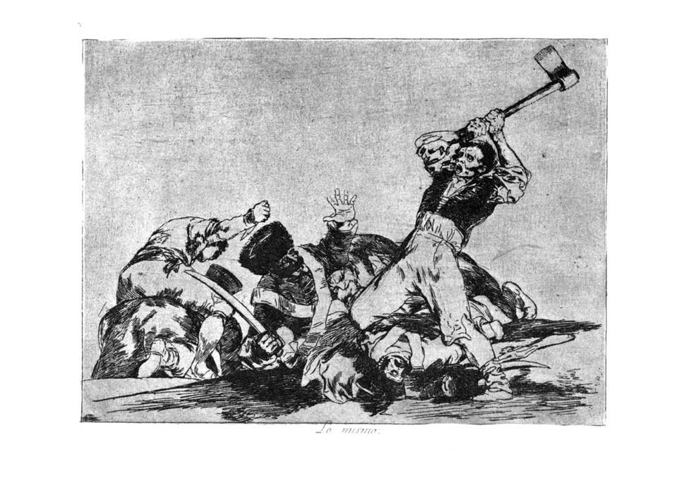 Los desastres de la guerra | Archivo | Goya