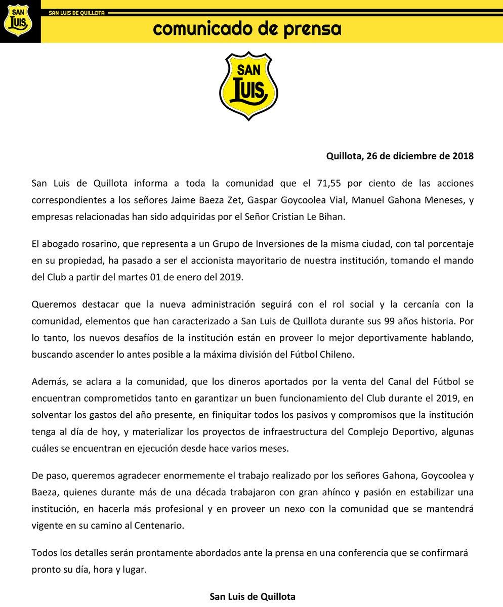 Twitter San Luis de Quillota