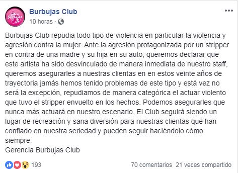 Club Burbuja