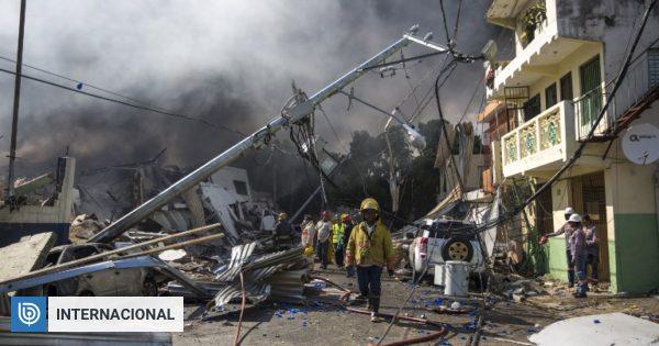 Explosión en fábrica de República Dominicana deja 3 muertos y una veintena de heridos