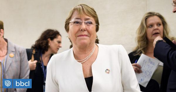 Bachelet solicita días de permiso a la ONU para pasar fiestas de fin de año en Chile
