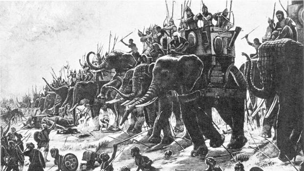 Representación Batalla Segeda   Wikimedia Commons
